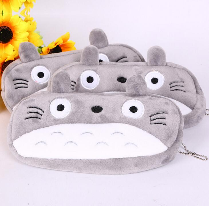 Kawaii 20CM TOTORO School Kids Pen Pencil BAG Case GIFT BAG Lady Girl's Cosmetics Purse BAG & Wallet Coin Holder Pouch BAG Case cartoon cosmetics bag pokemon go gravity purse bag received wallet makeup pencil pen case bag zelda pokemon ball purse bag wt004