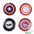 Captain America Iron Man Qi Wireless Charger USB Charging Pad for Huawei W3 Mate 9 P9 HIKE X1 Motorola 360