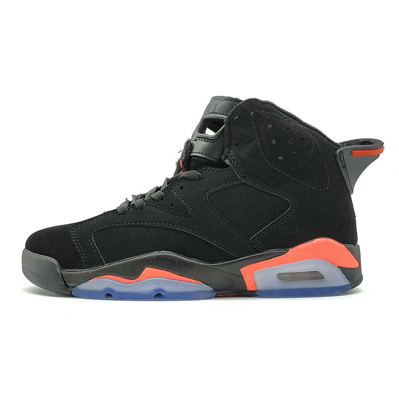 40d8ea5ff7945d Jordan 6 VI Men Basketball Shoes Toro Infrared Black Slam Dunk UNC Wheat  Gatorade Thinker Athletic