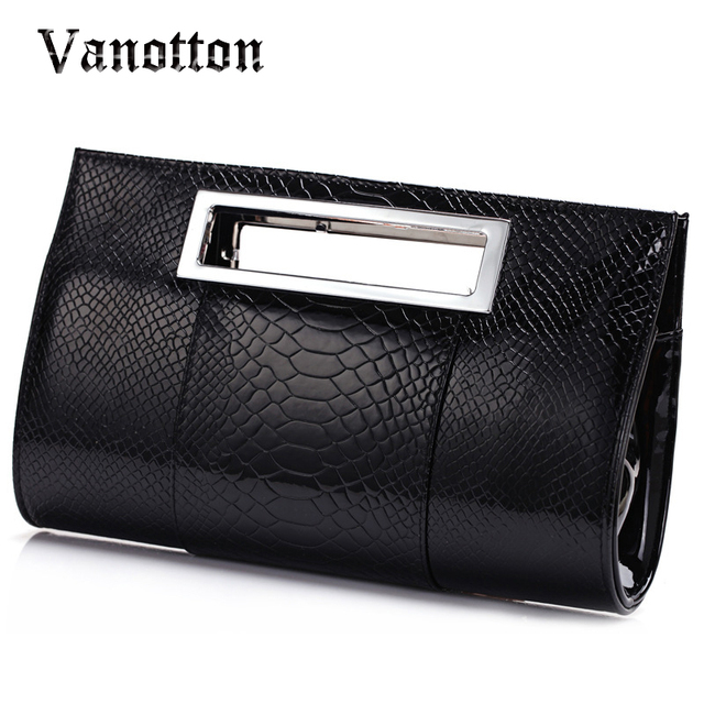 Luxury high quality women evening bag famous Brand lady alligator Leather casual Clutches party mianudiere bolsos de mano fiesta