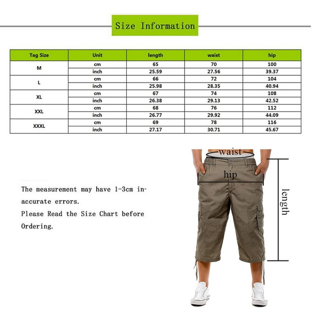 Pants New Loose Slim Fit Multi-Pocket Solid Color Outdoor Casual Tassel Pants