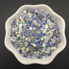Good Quality Crystal Moonlight  DIY Strass ss3-ss34 Non HotFix Nail Art Flatback Rhinestones for Clothes Decorations