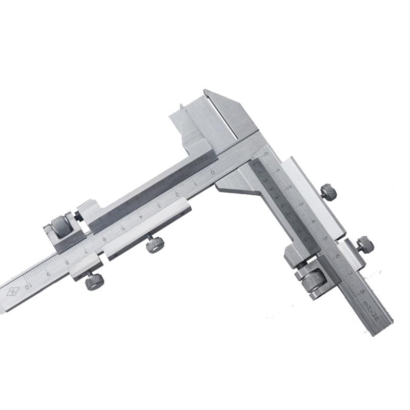 M1 26 Gear Tooth Caliper Toothed Wheel Measure Precision Vernier Caliper Gauge Paquimetro Pie De Rey