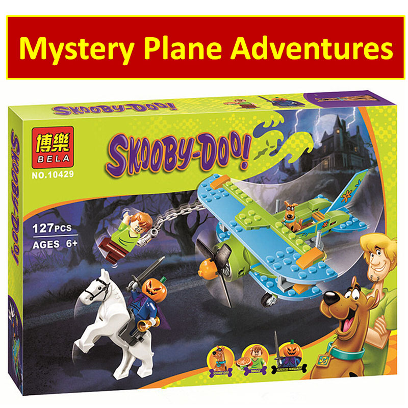 Scooby-Doo 10429 Mummy Museum Stery Building Block Model Kits Scooby Doo Dog Blocks Toys комплект белья letto 2 спальный наволочки 70х70 цвет коричневый b30 4