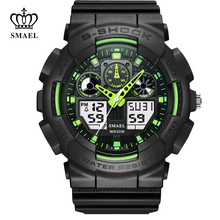 2017 Sport Dual Digital Watch Men Led Display Analog WristWatch Male Wrist Stopwatch Alarm Clock S Relogio Masculino Shock 36