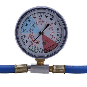 Image 5 - R134A 空調充電測定ホースゲージバルブ冷媒管の自動カーエアコンアクセサリー