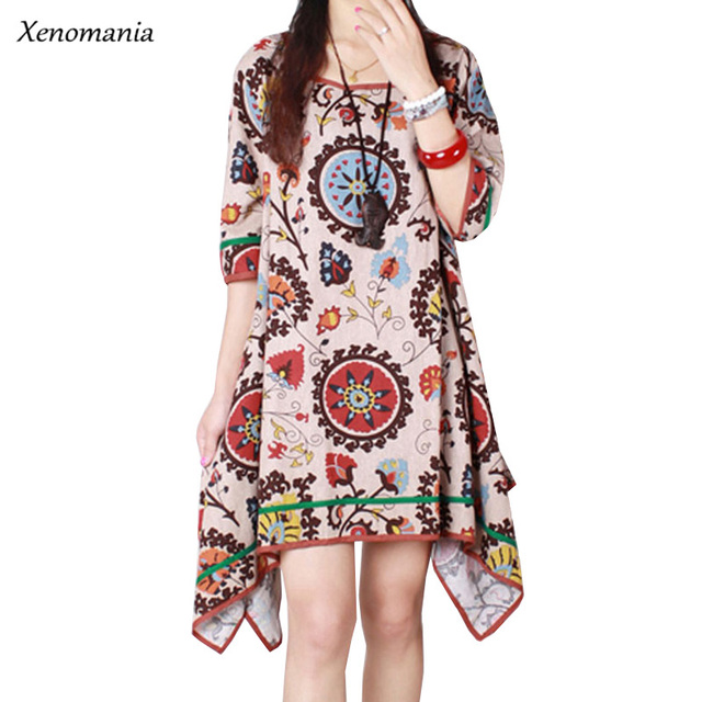 boho clothing hippie robe femme online shopping india autumn dress 2017 korean lolita plus size. Black Bedroom Furniture Sets. Home Design Ideas