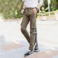 Классическая мода Дизайнер Человек Случайные Военные Брюки Мужские Брюки-Карго Новый Slim Fit Тощий мужские Тактические Брюки Брюки Большой размер