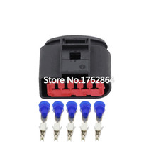 5 Pin Jacket waterproof connector with car terminal DJ7056-3.5-21 5P