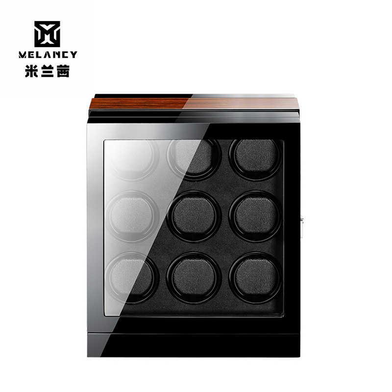 Роскошные Автоматическое вращение японские часы Двигатель Подъемной Машины mabuchi черный заводчик для часов для детей в возрасте от 9 Н
