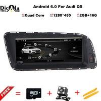 4 Core IPS 2Gb Ram 8.8 inch Android 6.01 Car Dvd Gps Radio For Audi Q5 2012 2017 Vedio Stereo Head Unit PC Multimedia Navi 4G