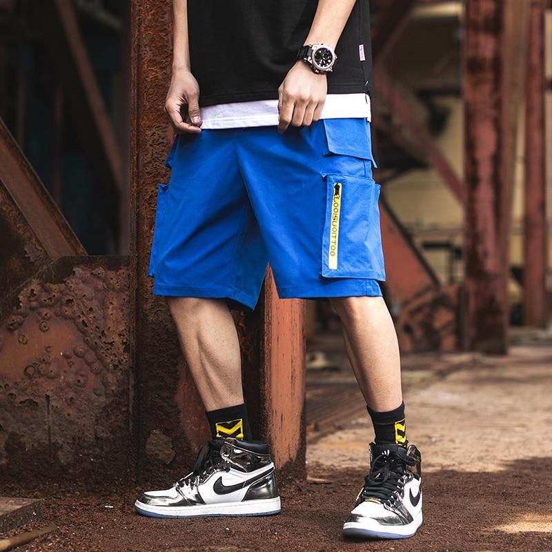 men shorts sweat hip hop streetwear summer military cotton mens bermuda shorts M XXXL 2019 cargo casual track shorts in Casual Shorts from Men 39 s Clothing