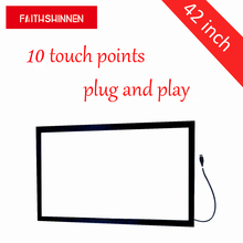 42 inch ir touch screens, frames, screen overlays 10 points