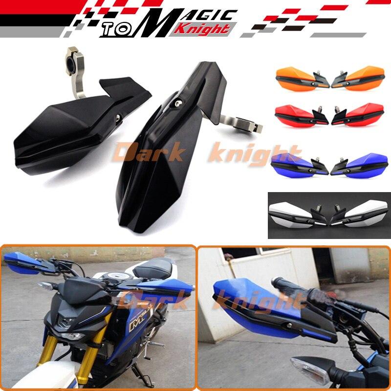 ФОТО Free shipping For YAMAHA WR 125X WR125X 2009-2013 2010 2011 2012 Motorbike Off-road Bike Handguard Handlebar Hand Guard 5 Colors