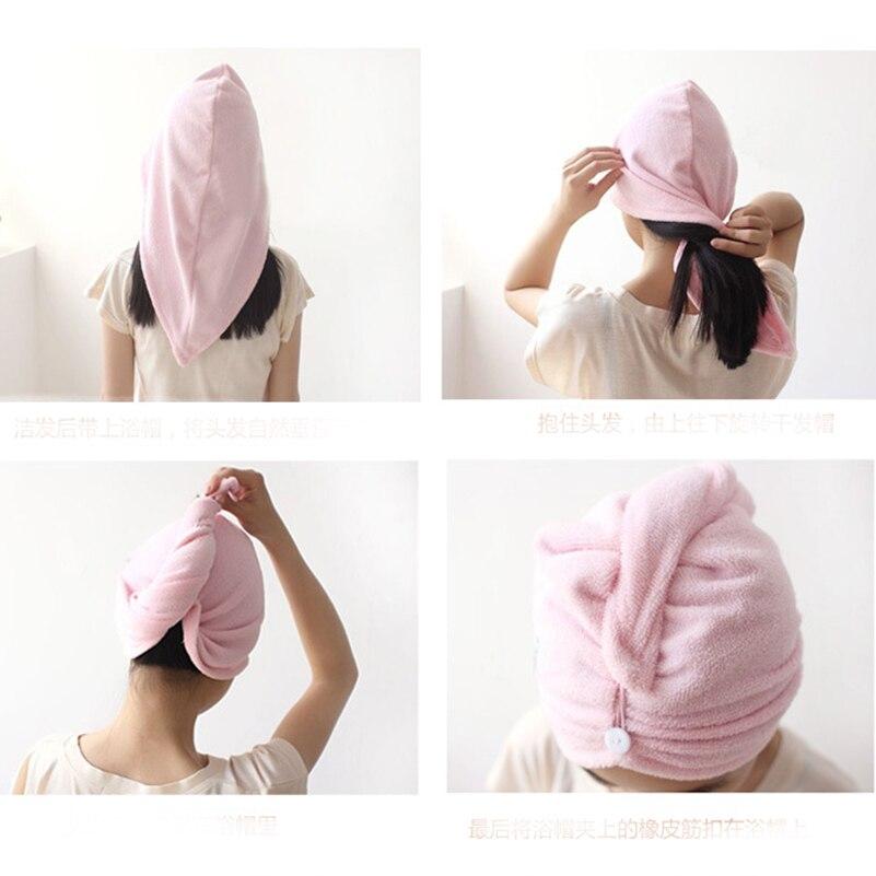 Lovely Hair Towel Turban 1