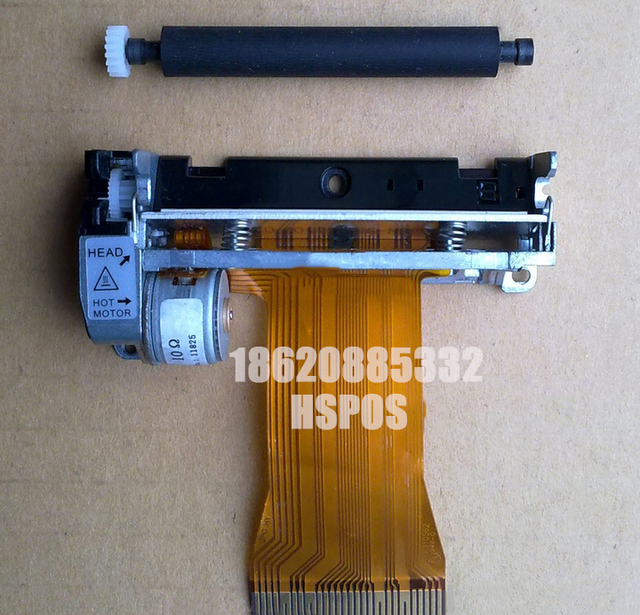 Thermal print head gears XPrinter POS58II XP-58III pt486f-b104 prt pt486f thermal printer rubber roller gear 4pcs for 1set 1