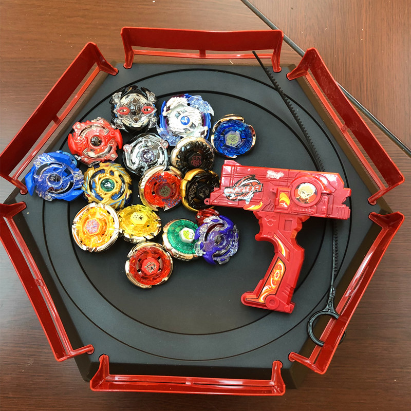 Funny Gyro Disk Beyblade Burst With Launcher Starter and Arena Stadium Metal Fusion God Spinning Top Bey Blade Blades Toy Sale