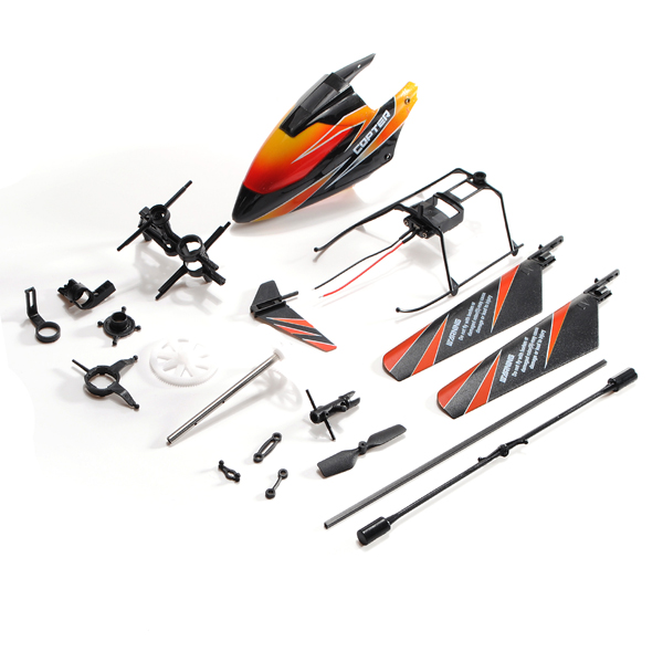 WLtoys WL V911 2.4Ghz 4Ch RC Helicopter Spare Parts Accessories Set KV911-0001 wl v931 as350 parts battery 3 7v 720mah 25c wltoys v931 rc helicopter spare parts
