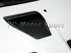 Akcesoria samochodowe z włókna węglowego CS styl kaptur centrum Scoop nadające się do 2008-2012 Evolution EVO X 10 kaptur centrum otwory wentylacyjne