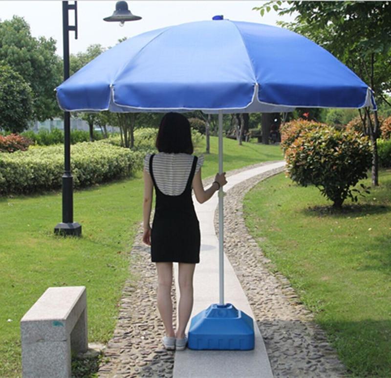 Stall beach umbrella advertising sun parasol large outdoor for Large patio umbrella covers