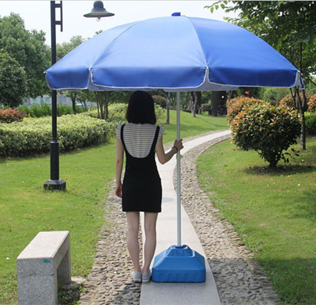 Stall Beach Umbrella Advertising Sun Parasol Large Outdoor Patio Cover