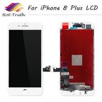 핫 진리 10 개 아이폰 8 플러스 LCD 디스플레이 터치 스크린 디지
