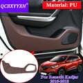 Alfombrilla protectora de protección de borde de estilo de coche cubierta de alfombrilla antideslizante para Renault Kadjar 2016-2018 interna deocoration