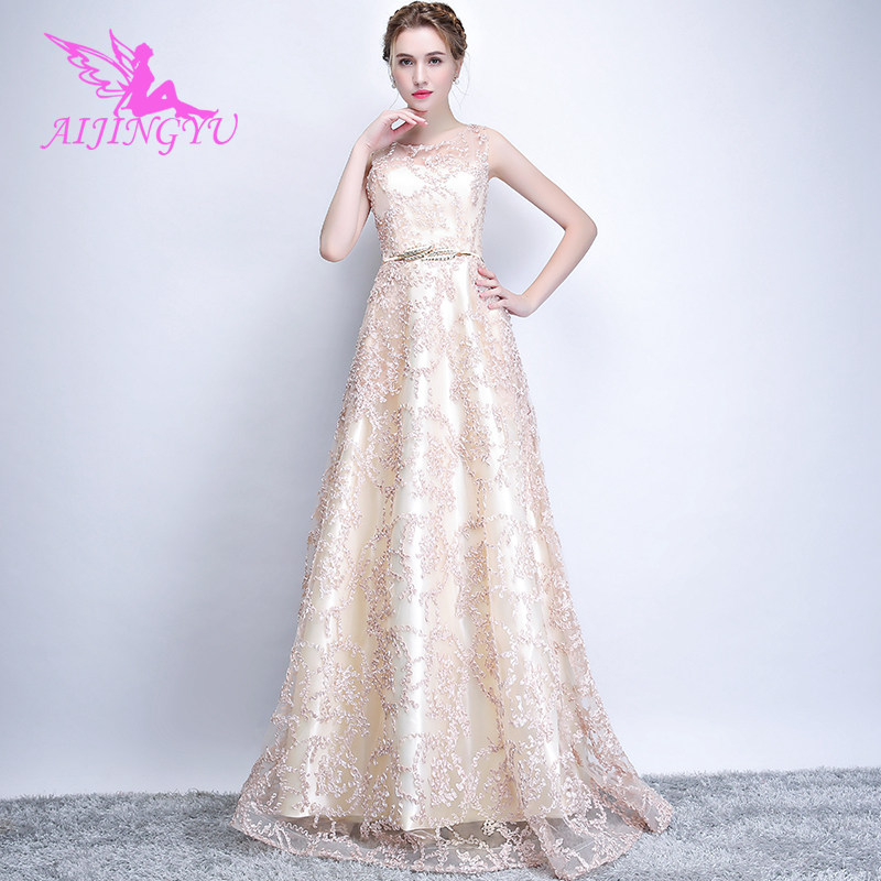 Aliexpress.com   Buy AIJINGYU Sexy Lace Evening Dress Party Gown Women  Elegant 2018 Formal Special Occasion Dresses Fashion Ball Gowns FS209 from  Reliable ... 6d7da3e3ff51