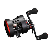 Lizard 10BB Round Baitcasting Reel Magnetic Brake System Left/Right Fishing Reel