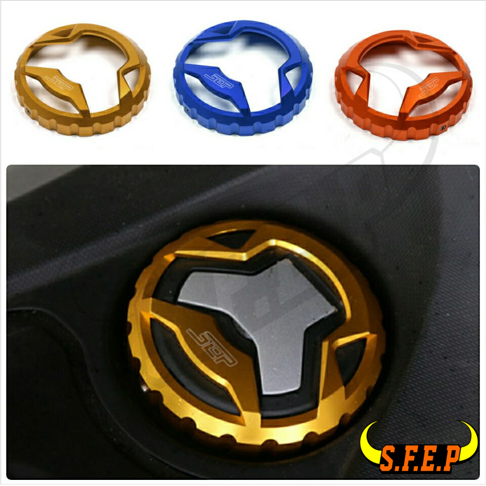 Motorcycle Parts Oil Cover Of The Tank CNC Aluminum Alloy Fuel Tank Cap For Yamaha NMAX 155 NMAX155 2015-2016 7 Colors босоножки ecco босоножки