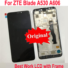 Sensore di LTPro Originale Best Display LCD Touch Screen Digitizer Assembly con telaio Per ZTE lama A606 A530 Del Pannello del Telefono Parti
