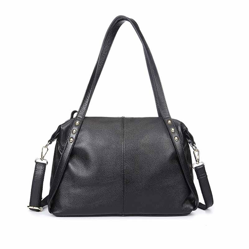 Neweekend 2018 Big Shoulder Bag Genuine Leather Handbag Luxury Handbags Fashion Solid Women Handbag With High Quality BF5102 fashion women handbags genuine leather shoulder bag solid multi color female handbag with free shipping