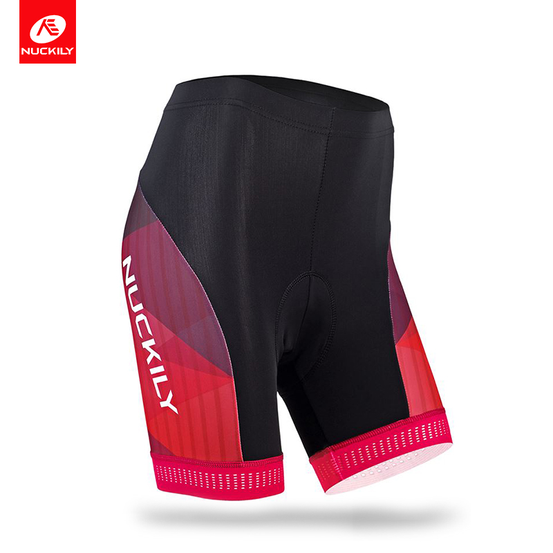 Nuckily breathable cycling short made with cool max material and 3D foam pad for womens bicycle riding GB012