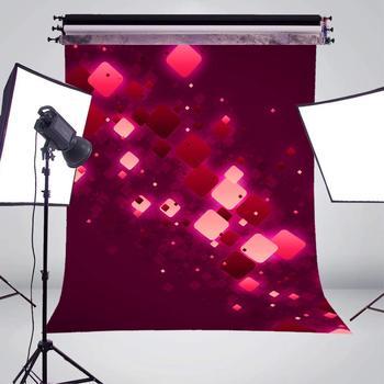 Weißer Fotografie Hintergrund   5x7ft Exquisite Rot Und Weiß Rechteck Fotografie Kulissen Dreamy Lila Hintergrund Kinder Foto Studio Hintergrund