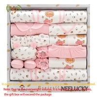 Newborn baby gift box cotton clothes gift box 18 sets