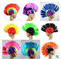 2015 Free Shipping  Export Europe and America Christmas Halloween masquerade Tiara Comb Hair Wig funny Mohawk