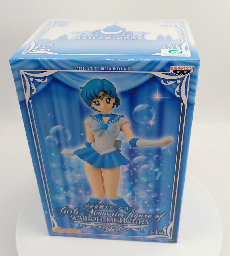 SAILOR MOON Girls Memories Sailor Mercury Pvc Figure Banpresto