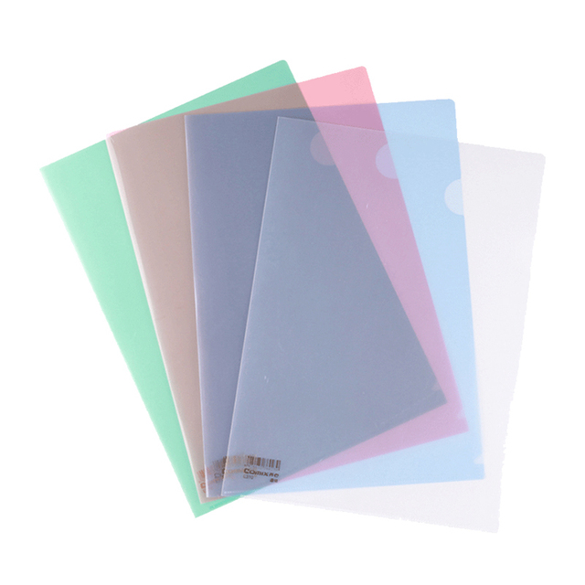 10 pieces a4 paper file folder cover project display organizer