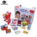 40 unids niños pretend play bebé simulación de caja registradora supermercado caja registradora de juguete de niño niña kids niños supermercado toys regalo