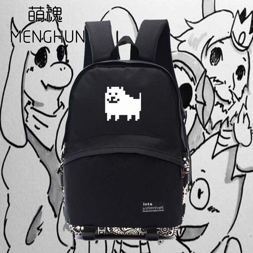 3f9f16ebd2a4 Cool game backpack undertale backpacks hadodog printing new design backpacks  nb076