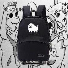 Cool game backpack undertale backpacks hadodog printing new design backpacks NB076