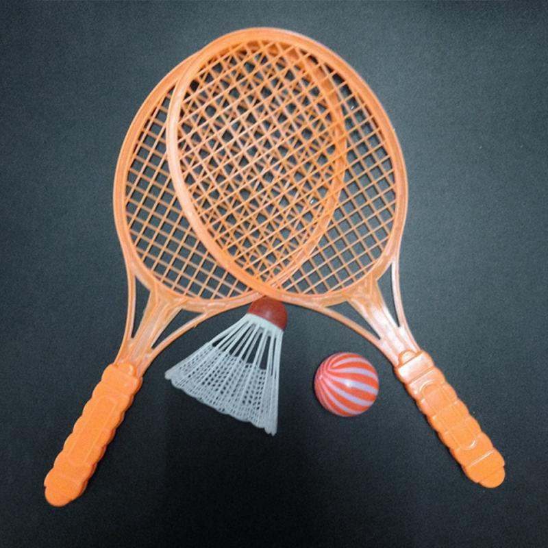 1 Pair Novelty Kid Baby Outdoor Sports Badminton Tennis Set Racket Parent-child Sport Educational Toys Bat Baby Sport
