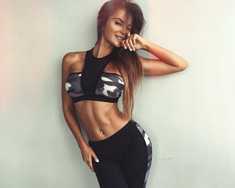 Two Piece Set Camouflage Sweatsuit For Women is made with soft stretch fabric to help keep you comfortable and moving freely all day.