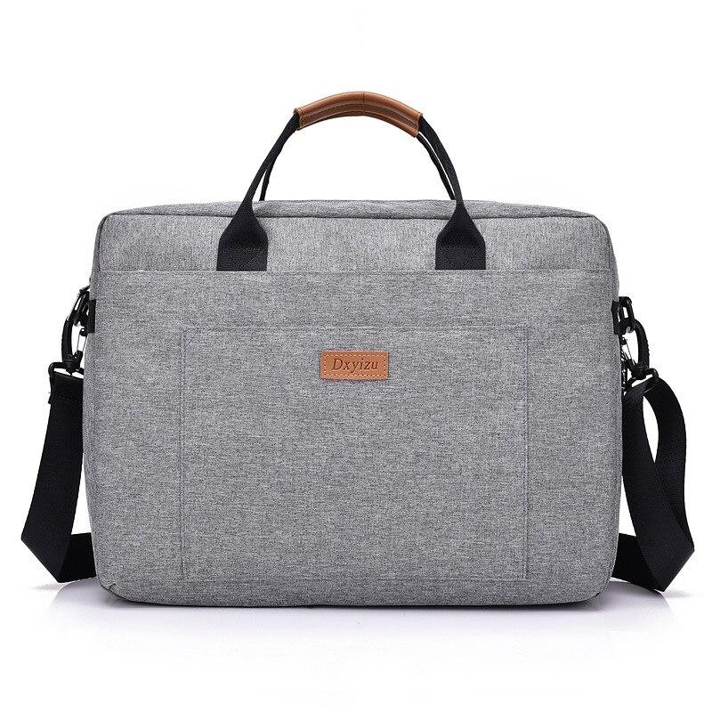 Новый Для мужчин 16 дюймов ноутбука Портфели сумка нейлон Портфели Для женщин Офисные Сумки Бизнес сумка для ноутбука Crossbody сумки для Для жен...