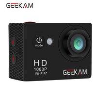 Original GEEKAM W9 Action Camera 4k 1080P Full HD 2 0 LCD 30m Waterproof Wifi 170