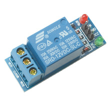 New 1x 1-Channel 12V Relay Expansion Board Module High Level Triger for Arduino T1606 P10