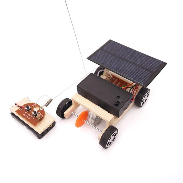 Solar Power Wireless RC Car Toy 1