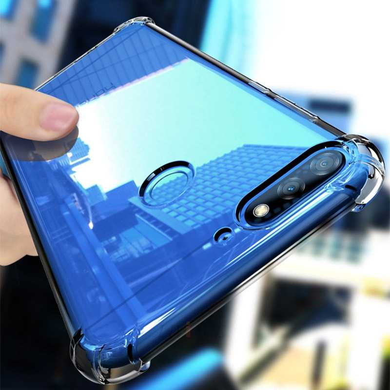 shockproof Airbag tpu clear phone case on for huawei honor 7a 7c 5.45 5.7 5.99 5a 5c 5X 6a 6c 8 pro 10 gt 7s 7x 9i 9 lite cover