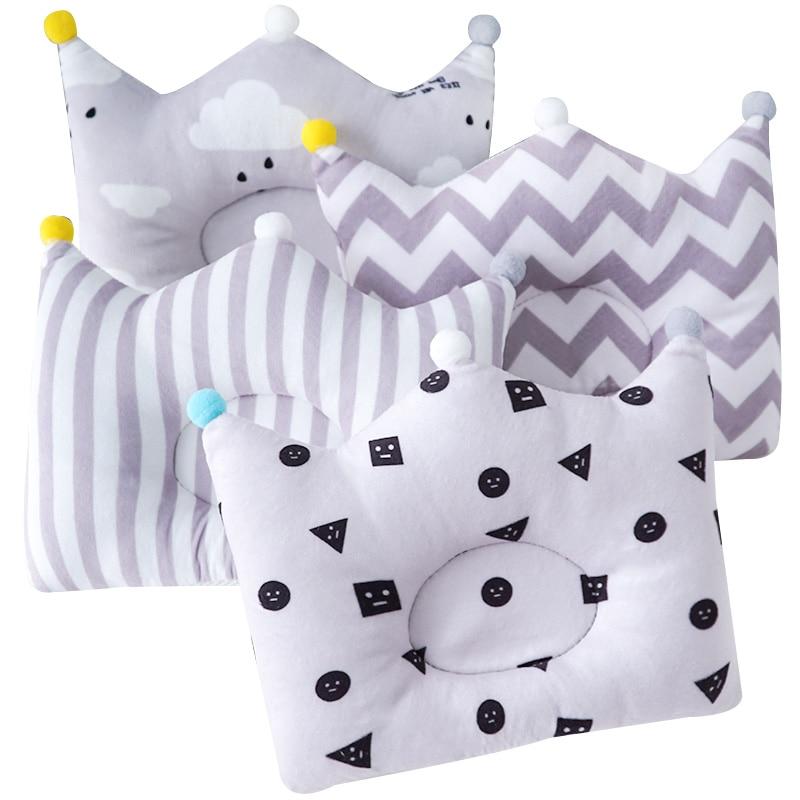 Muslinlife Infant Head Protection Shaping Pillows Cute Baby Sleep Nursing Pillow Newborn Support Cushion Dropship