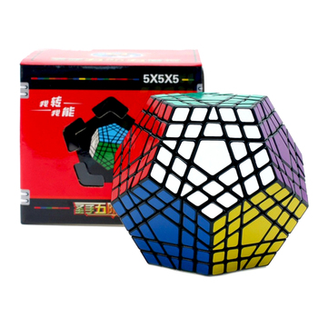 Shengshou 5x5x5 Cube Magic Cube Megaminx Gigaminx 5x5 Professional Dodecahedron Cube Twist Puzzle Learning Educational Toys shengshou cube 2 x 2 x 2 mini cube black base fun educational toy